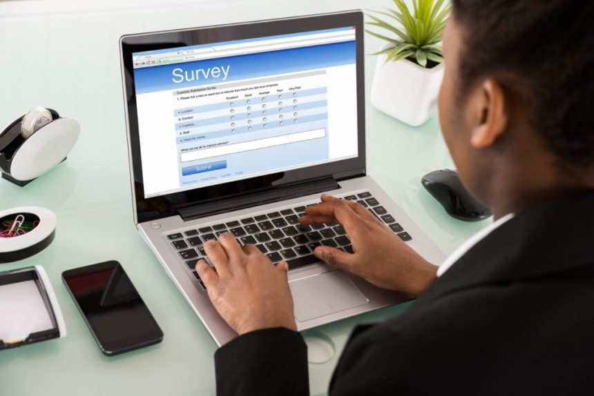 What is the use of technology in surveys?